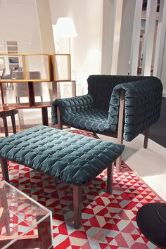 Ligne roset - quilted and comfy