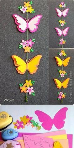Vrolijke vlinders om zelf te maken!