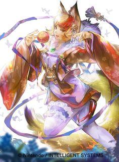 Fire Emblem Fates: Birthright - Kinu