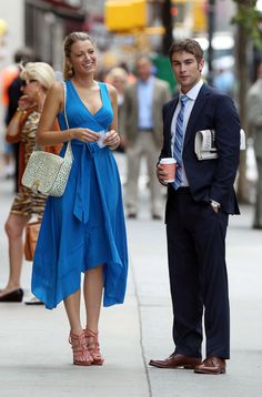 Blake Lively y Chace Crawford