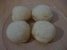 Pão de queijo (sem queijo) | Receita