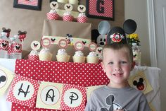 Mickey Mouse Birthday Party Ideas {Griffin Turns THREE} - Love of Family & Home