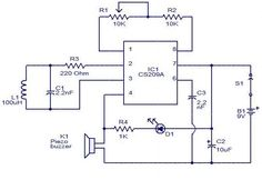#MetalDetector circuit is an electronic instrument which detects the presence of metal nearby. Metal detectors are useful for finding metal inclusions hidden within objects. Contact us : https://goo.gl/JhRy9u