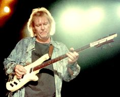 """Chris Squire is the influential bassist for the British based band, Yes.  This band has been around for over 40 years, having started in 1969.  Chris Squire's sound and playing style are very distinctive.  His sound has given the manufacture """"Rickenbacker"""" a distinctive place in the world of bass guitars.  He purchased his bass in 1965."""