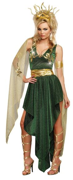 Sultry+Medusa+Costume from Buycostumes.com