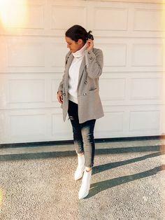 Blazer Zara Urban Chic Fashion, Street Fashion, Winter Style, Autumn Winter Fashion, Casual Outfits, Fashion Outfits, Work Attire, Pretty Outfits, Switzerland