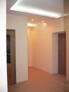 Indirekte Beleuchtung Flur / wohnzimmer  dielen flur  Pinterest