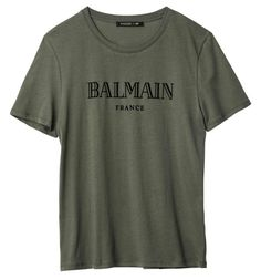 Balmain x H&M: See the Full Collection With Prices - Fashionista H&m Collaboration, Mens Fashion, Fashion Outfits, Fashion Menswear, Lookbook, Cool Outfits, Collection, Mens Tops, T Shirt
