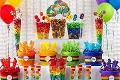 Candy Buffet Supplies  Jars Online | Big Lolly - Big Lolly