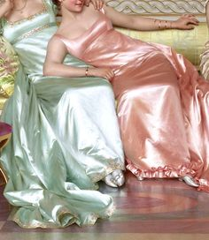 "the-garden-of-delights: "" ""La Soirée"" (detail) by Vittorio Reggianini (1858-1938). """