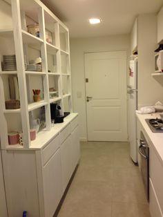 Kitchen interior white deco