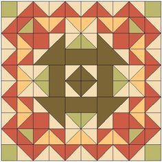 Make this 80″ square one-block quilt today! - free quilt pattern on AQSblog