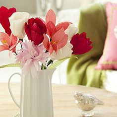 DIY ideas: Welcome spring with these sweet Crepe Paper Flowers