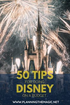 50 Tips for Doing Disney on a Budget A trip to Walt Disney World is a dream come true for most people.  The challenge is finding tips and tricks that are going to actually save you money and help you go to Disney on a budget.   Luckily, there are many ways to cut corners from the moment you leave your home.  The perfect Disney vacation is not out of your reach. #Disney #DisneyWorld #DisneyOnABudget #DisneyTips #DisneyPlanning