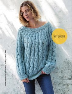Hendes Verden Tillaeg Drops Design, Pullover, Free Knitting, Doll Clothes, Sweater Cardigan, Knit Crochet, My Design, Crochet Patterns, Sweaters