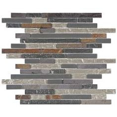@Overstock - These Somertile mosaic tile sheets are perfect for your bath,  backsplash and