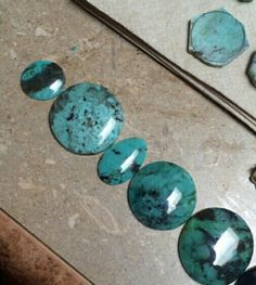New tucson 2016 find. Catalina Blue Gem Silica. This stuff is a beautiful rare gemstone.