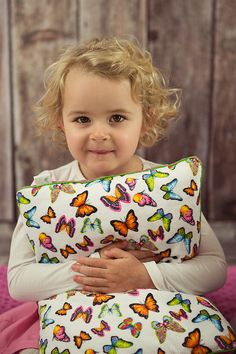 SOFT Butterflies Cushion