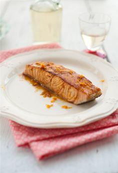 Orange Glazed Salmon Fİllet