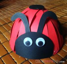 Let's do a 3D lady bug for your baby