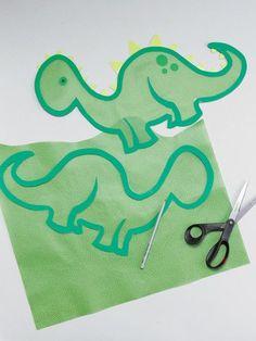 Vorlage zum Download: Großartig – diese Dino-Laterne wird Kinderaugen zum Strahlen bringen