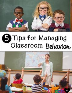 Great Behavior Management tips, especially for the new teacher