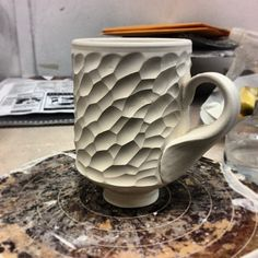 Great texture, need a very sharp tool for that one