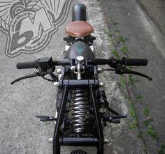 125cc chopper - front-top | afs taiwan