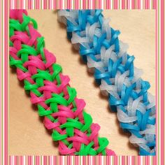 "New ""Jagged Rock"" Hook Only Rainbow Loom Bracelet/How to Tutorial"