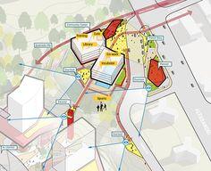 Las Salinas – Sasaki – Architecture is art Architecture Concept Drawings, Architecture Portfolio, Landscape Architecture, Architecture Design, Architecture Diagrams, Origami Architecture, Landscape Design, Urbane Analyse, Urban Design Diagram