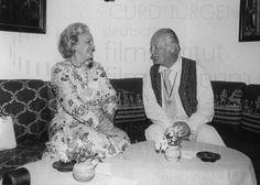 Nachlass Curd Jürgens | Curd Jürgens und Begum Aga Khan III., 4