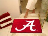 University of Alabama Logo AllStar Nylon NCAA Doormat. $34.99 Only