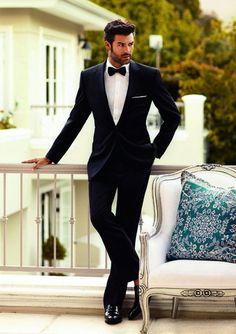 Black tie affair / karen cox / sharp dressed man in tux Sharp Dressed Man, Well Dressed Men, Traje Black Tie, Fashion Beauty, Mens Fashion, Suit Fashion, Look Man, Black Tie Affair, Mode Masculine