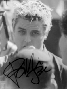 Now your Pinterest feed is signed by Billie Joe Armstrong!!