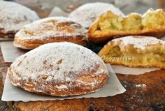 Folle napoletane ricetta originale dolci tipici vickyart arte in cucina