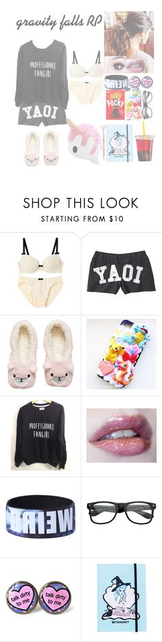 """gravity falls RP"" by squishy-bubble-tea ❤ liked on Polyvore featuring H&M, Samsung and Hot Topic"