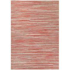 Varick Gallery Dobbs Alassio Sand/Maroon Indoor/Outdoor Area Rug Rug Size: