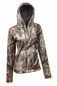 Amazon.com: Huntworth Women's Performance Hoodie, Camouflage, X-Large: Sports & Outdoors