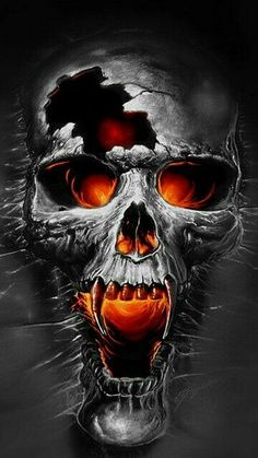Our Website is the greatest collection of tattoos designs and artists. Find Inspirations for your next Skull Tattoo. Search for more Tattoos. Dark Fantasy Art, Dark Art, Skull Tattoos, Body Art Tattoos, Totenkopf Tattoos, Skull Pictures, Skull Artwork, Skull Wallpaper, Skull Art