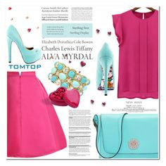 """""""Tomtop 14"""" by nerma10 ❤ liked on Polyvore featuring Monet, TaylorSays, Tiffany & Co., women's clothing, women, female, woman, misses and juniors"""