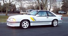 1988 Saleen Mustang. How I lusted after this.  Blue Springs Ford was a Saleen dealer.  I owned an '84 Mustang 5.0 LX when the Saleens were out.