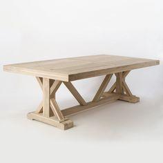 Terrain Preserved Teak Dining Table #shopterrain  Kenny's gotta make me this!