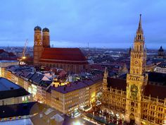 Munich Cathedral Town Hall, Kirchen, Munich, Counting, Cathedral, Europe, Photo And Video, History, World