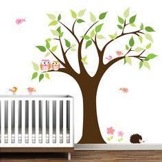 Tree Vinyl Wall Decal Children Nursery Wall Decals by Modernwalls, $99.00