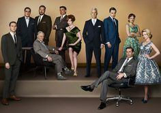 I cannot wait for this weekend's Mad Men premiere!