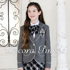 dc2f89df80ca0 卒業スーツ5点セット 卒業式 スーツ 女の子 DECORA PINKY S デコラピンキーズ 子供服