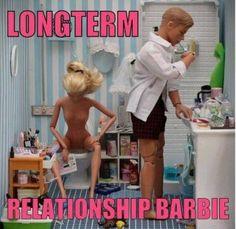 Zit je nou te poepen Barbie?