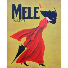 Art in Style Lady in the Red Coat Giclee on Canvas Wall Art | Overstock.com Shopping - The Best Deals on Canvas
