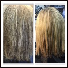 Pravana SmoothOut before and after by Stephanie @ studio 138