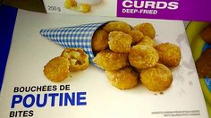 PC Poutine Bites {{First Taste Impressions}} Poutine, Fries, Muffin, Breakfast, Food, Morning Coffee, Muffins, Meal, Essen